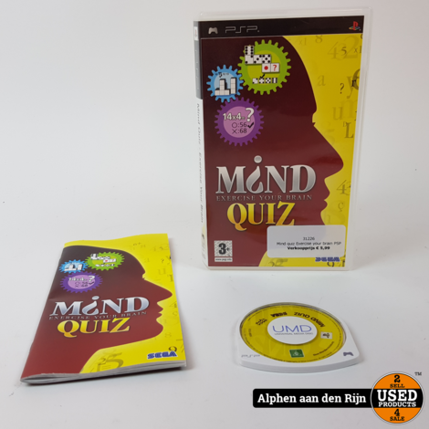Mind quiz Exercise your brain PSP