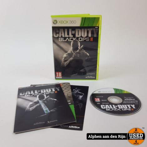 Call of Duty Black ops 2 xbox 360