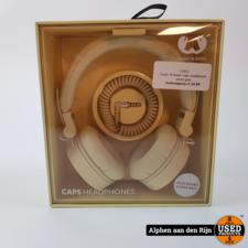 Fresh 'N Rebel caps headphone wired geel