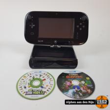 Nintendo wii u met Mario Kart 8 geïnstalleerd + Sonic Boom Rise of Lyric en New Super Luigi Bros U