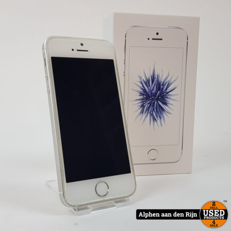 Apple iPhone SE 64gb wit 91%