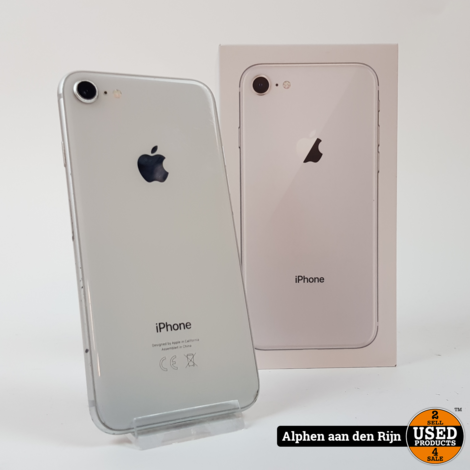Apple iPhone 8 64gb Silver 81% C-grade