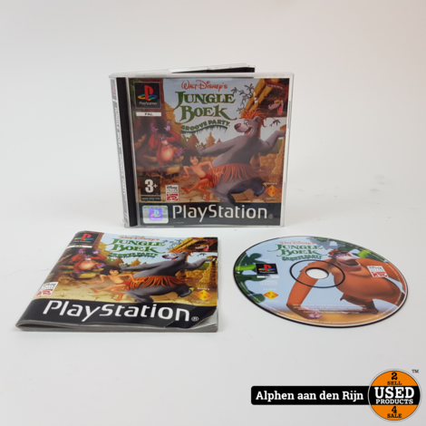 Jungle book  Groove party ps1