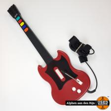 Guitar Hero gitaar ps2 rood
