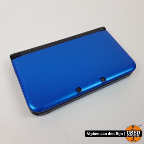 3DSXL blauw met oplader