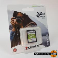 Kingston SD kaart 32GB