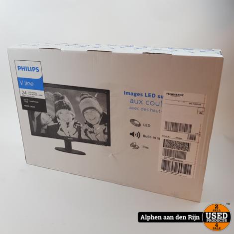 Philips 243v5l Monitor in doos