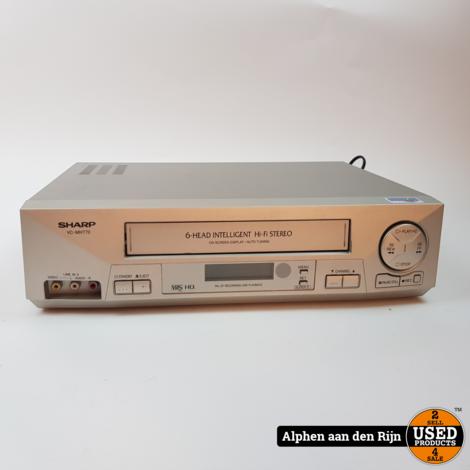 Sharp VC-MH770 VHS recorder met AB