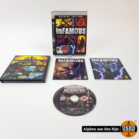 infamous special edition ps3
