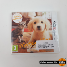 Nintendogs + cats 3ds