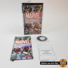 Marvel trading card game PSP