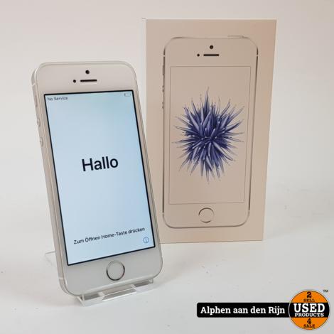 Apple iPhone SE 32GB 86% silver met doos
