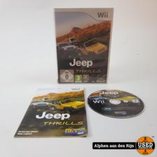 Jeep thrills Wii