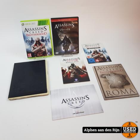 Assassins creed brotherhood Codex edition xbox 360 + extras
