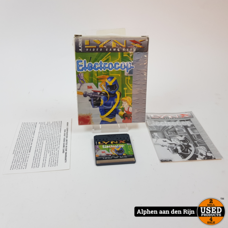 Electrocop Atari lynx