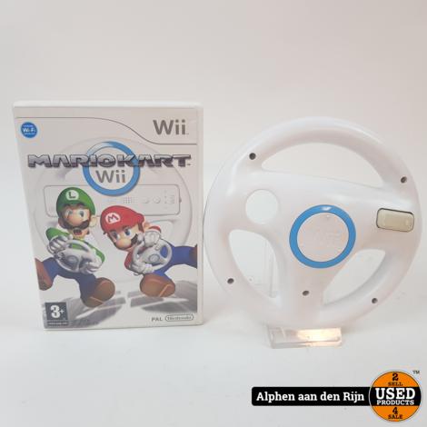 Mario kart Wii + stuur