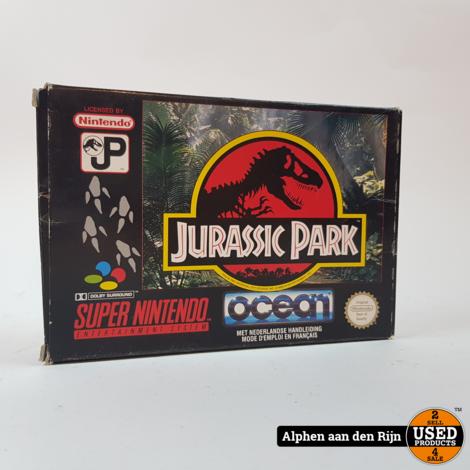 Jurassic park SNES compleet