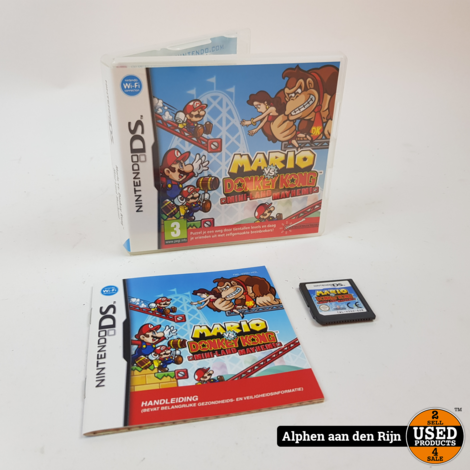 Mario vs donkey kong 3 Mini-land Mayhem ds