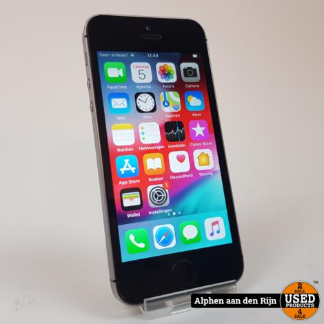 Apple iPhone SE 32gb Space gray 84%