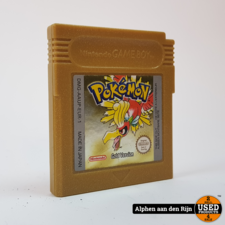 Pokemon Gold gameboy