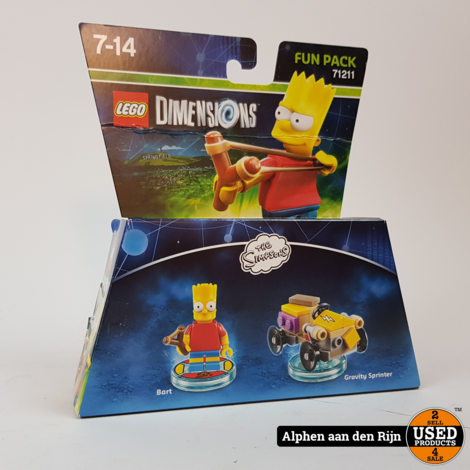 Lego 71211 Dimensions Fun Pack Bart simpson