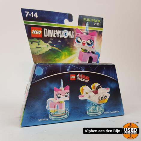 Lego 71231 Dimensions Fun Pack Unikitty