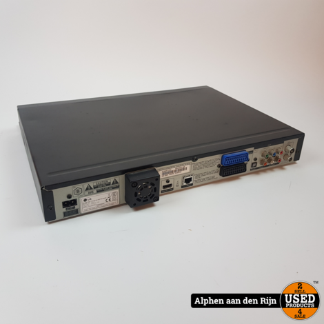 LG HR400 Blurayspeler + 160GB HDD