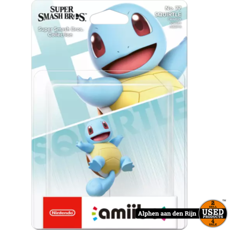 Amiibo Squirtle Super Smash Bros