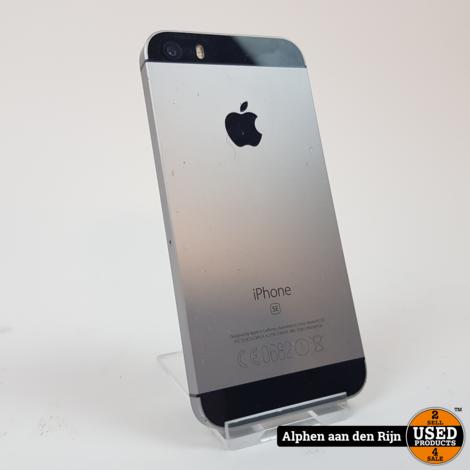Apple iPhone SE 64gb space grey 80%