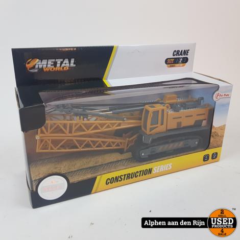 METAL Die-Cast bouwvoertuig wiellader 1:55