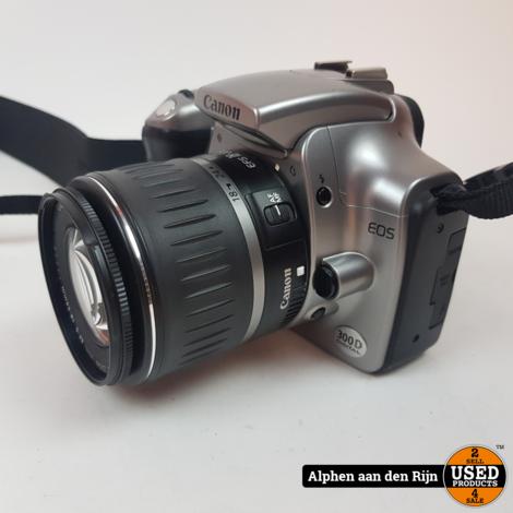 Canon 300d camera met 18-55mm lens