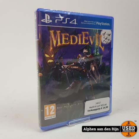 MediEvil ps4 NIEUW