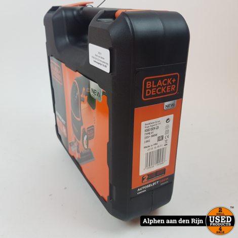 Black and decker KS801SEK-QS Decoupeerzaag