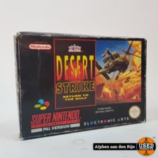 Desert strike snes met box