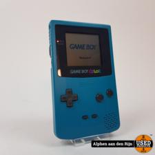Gameboy Color Blauw + Nintendo tas