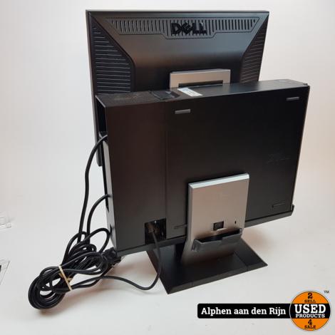 Dell optiplex 960 desktop met monitor