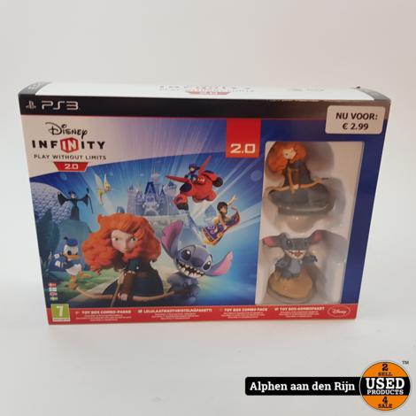 Disney Infinity starter pack PS3 nieuw