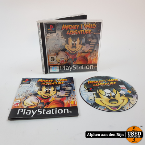 Mickey's wild adventure Playstation 1