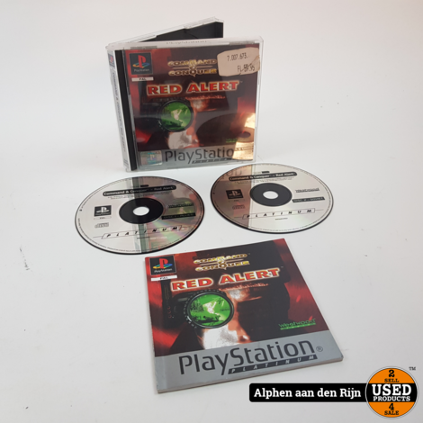Command & Conquer Red alert Playstation 1