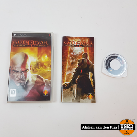 God of war chains of Olympus psp essentials