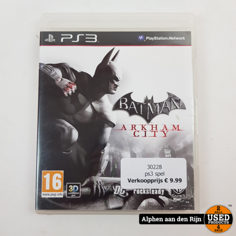 Batman Arkham city Playstation 3