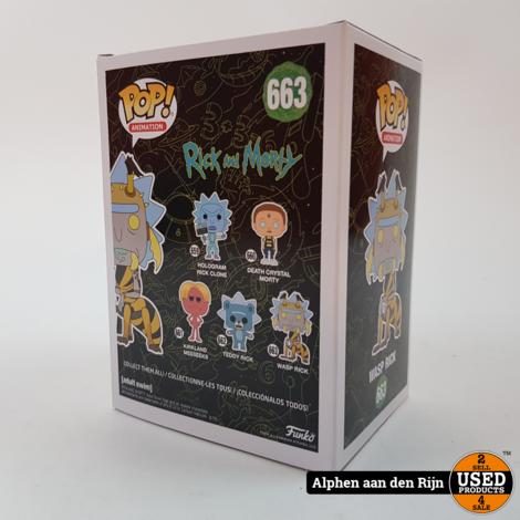 Funko POP! Animation Rick & Morty wasp rick