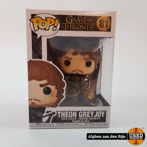 Funko POP! Game of Thrones Theon with flaming arrow