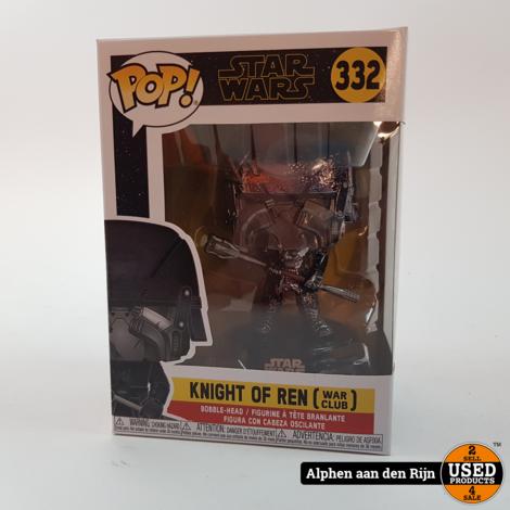Funko POP! star wars knight of ren war club