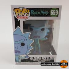Funko POP! Animation Rick & Morty hologram rick clone