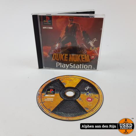 Duke neuken PS1 in cd doosje