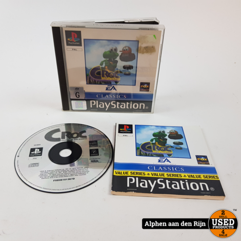 Croc Legend of the Gobbos ps1