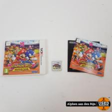 Mario en Sonic Olympische spelen Londen 2012 3ds