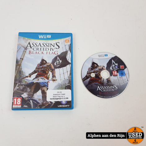 Assassins creed Black Flag Wii u