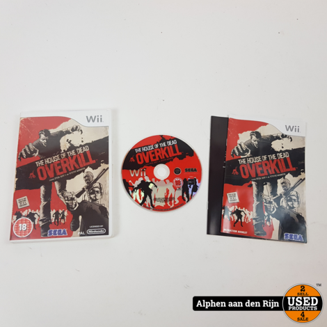 the house of the death overkill wii €5.99